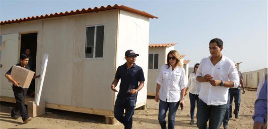 Más De 30 Casas Prefabricadas Hay Instaladas En El Milagro